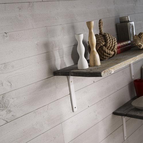 lambri gris gallet pose au m²