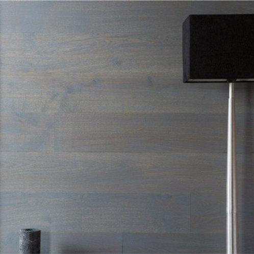Lambris adhésif chêne gris zingué STICKWOOD, L.119 x l.13.8 cm, Ep.2.5 mm
