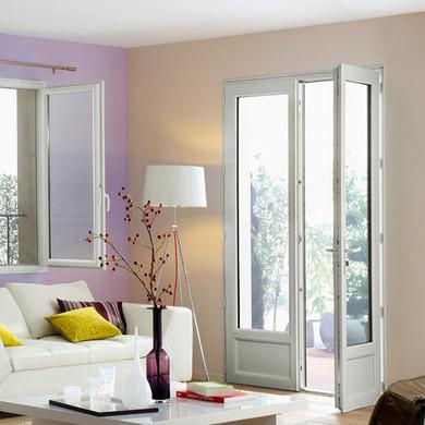 porte fen tre classic pvc 2 vantaux cl e menuiserie. Black Bedroom Furniture Sets. Home Design Ideas