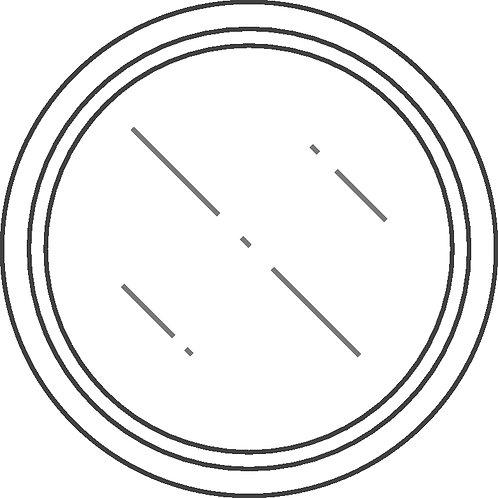 ŒIL-DE-BŒUF ROND BASCULANT CLASSIC PIN