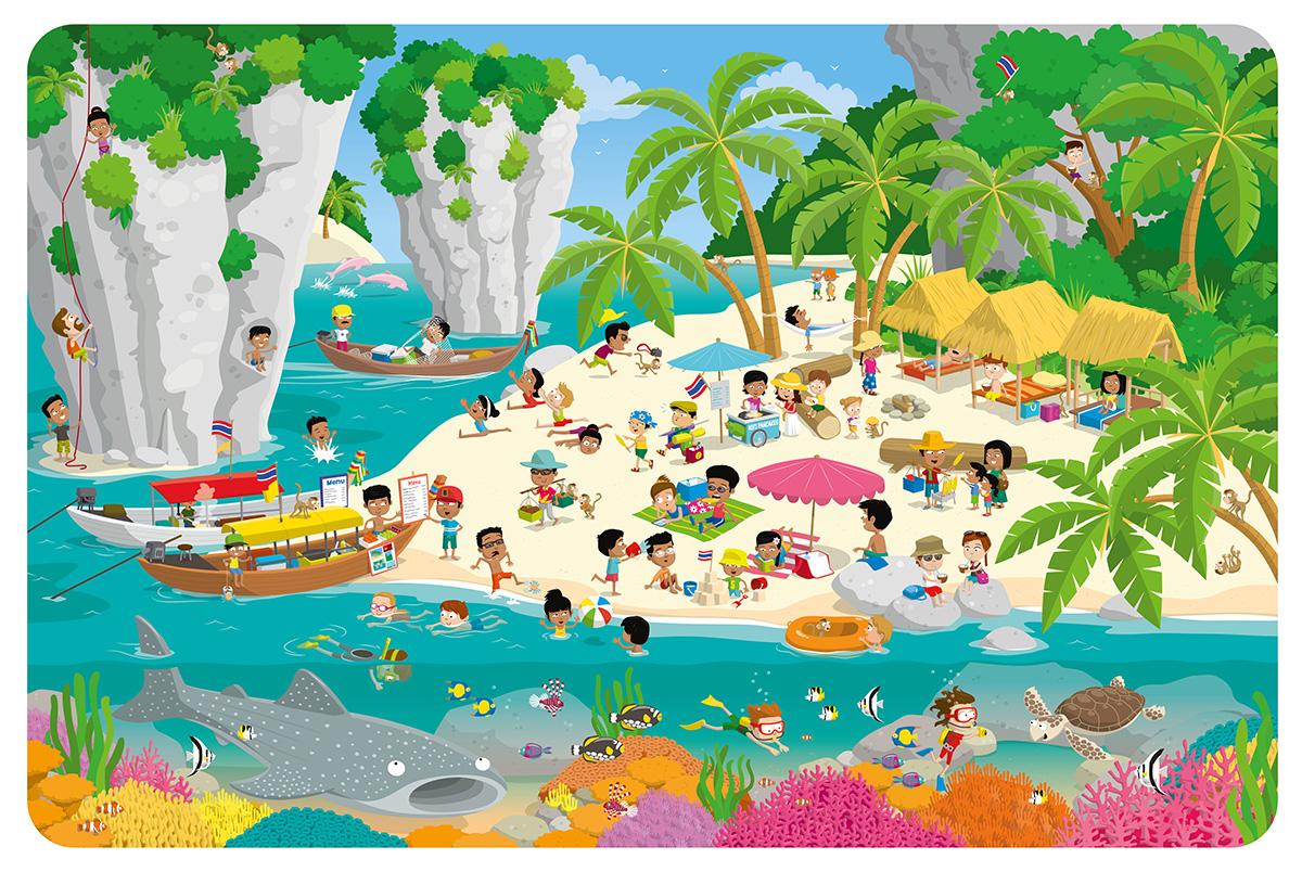 Thai Beach Poster