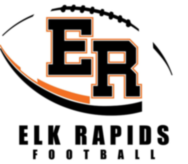Elk Rapids Football Logo
