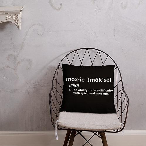Moxie definition pillow