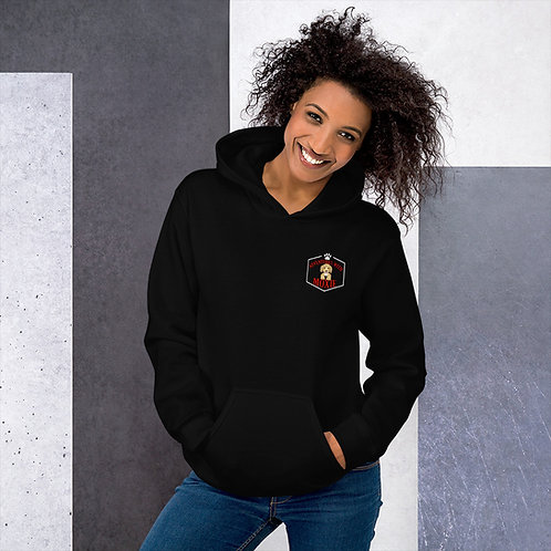 With Kindness, Courage, and a little bit of Moxie...unisex hoodie