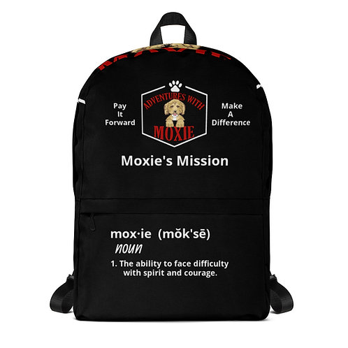 Moxie definition backpack