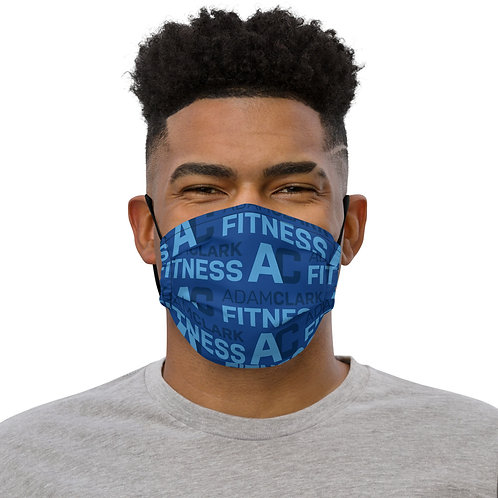 Adam Clark Fitness Face Mask - Blue