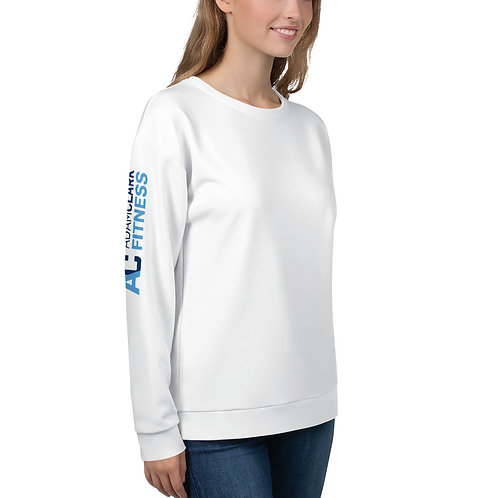 AC Unisex Sweatshirt - Side Logo - White