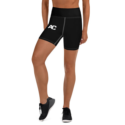 Yoga Shorts - AC - Black