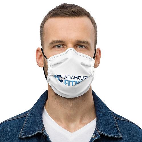 Adam Clark Fitness Face Mask - White