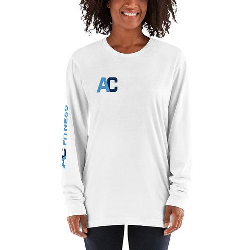 Adam Clark Fitness Long-Sleeve T-Shirt - White