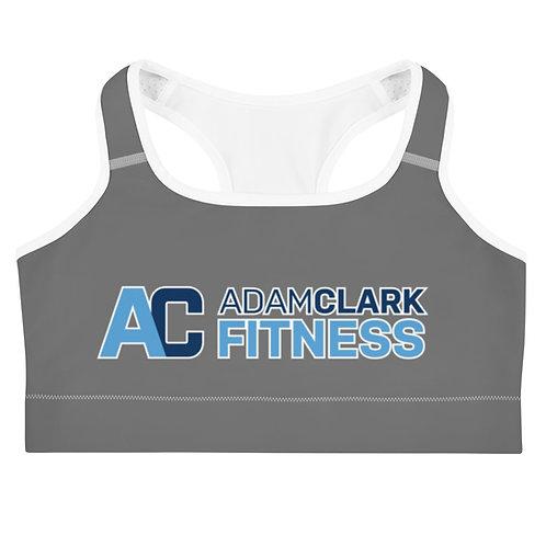 Adam Clark Fitness Sports Bra - Grey