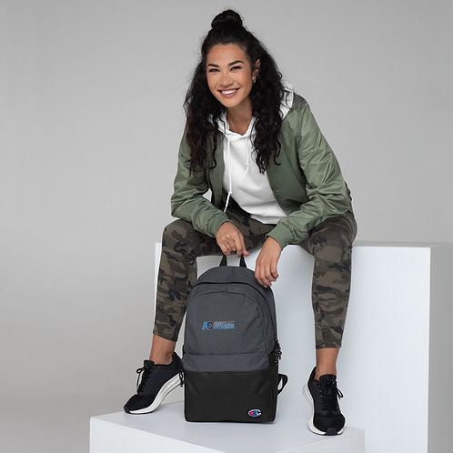 Adam Clark Fitness Embroidered Champion Backpack