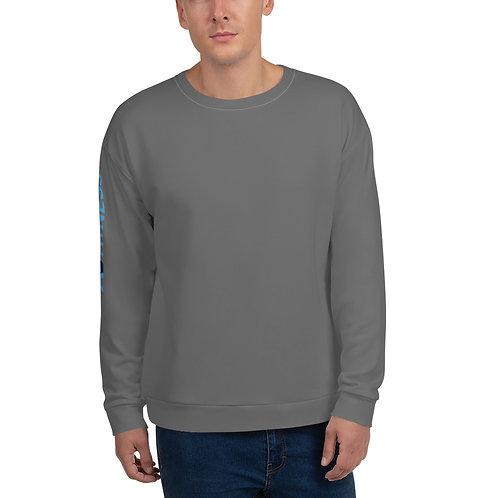 AC Unisex Sweatshirt - Side Logo - Grey