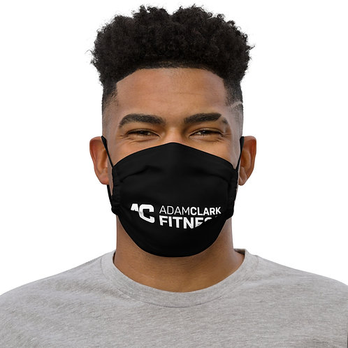 Adam Clark Fitness Face Mask - Black