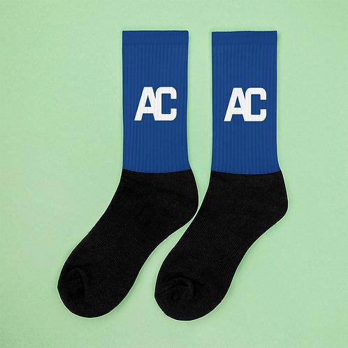 Adam Clark Fitness Socks - Blue