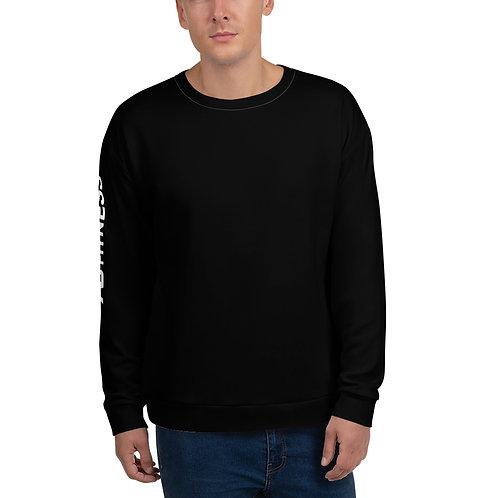 AC Unisex Sweatshirt - Side Logo - Black