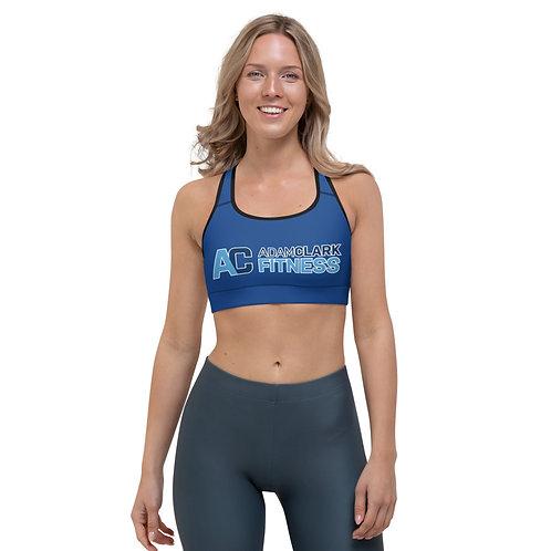 Adam Clark Fitness Sports Bra - Blue