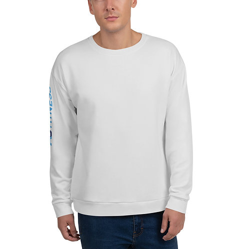 AC Unisex Sweatshirt - Side Logo - Light Grey