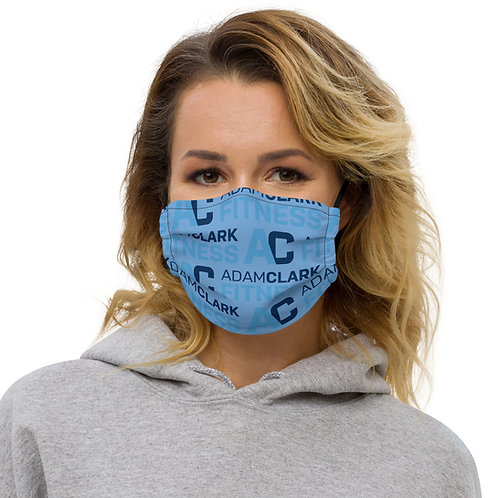 Adam Clark Fitness Face Mask - Light Blue