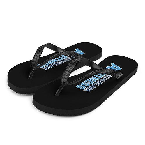 Adam Clark Fitness Flip-Flops - Black