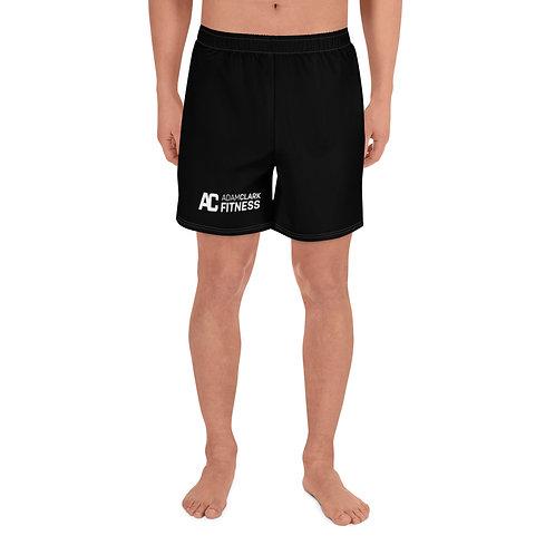 Adam Clark Fitness Men's Athletic Long Shorts - Black