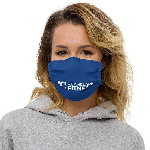Adam Clark Fitness Face Mask - Blue