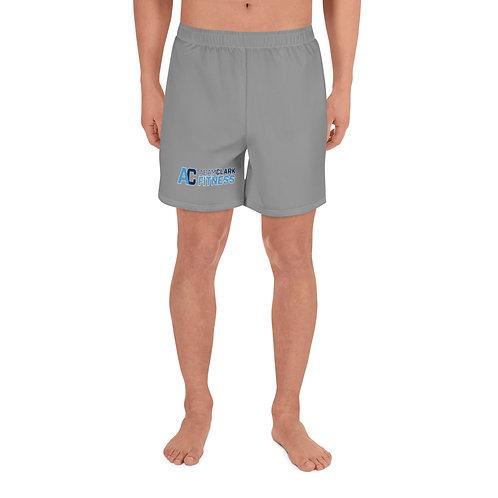 Men's Athletic Long Shorts - Grey