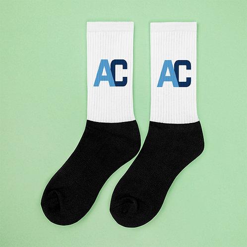 Adam Clark Fitness Socks - White