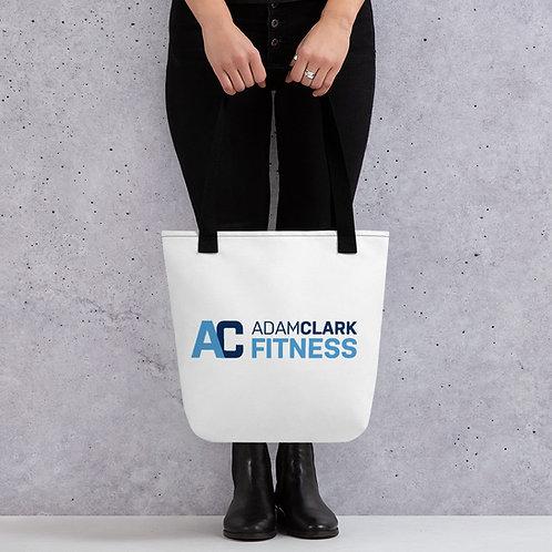 Adam Clark Fitness Tote Bag - White