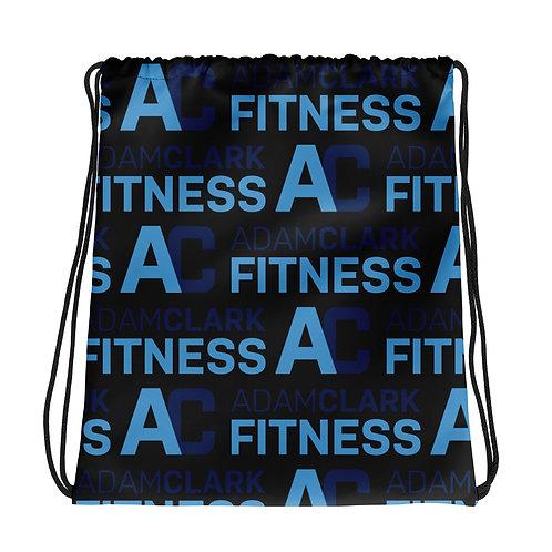 Adam Clark Fitness Drawstring Bag - Black
