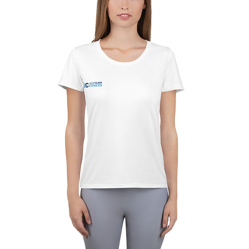 All-Over Print Women's Athletic T-shirt - Boom