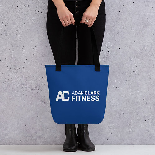 Adam Clark Fitness Tote Bag - Blue