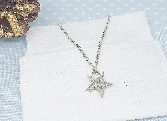 Starry Christmas Necklace & Box