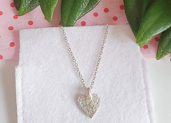 Dappled Heart Necklace - Giftbox