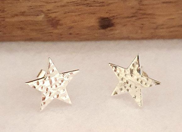 Dappled Star Earring Stud