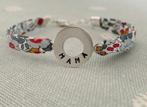 MAMA Betsy Ann Liberty Fabric Bracelet
