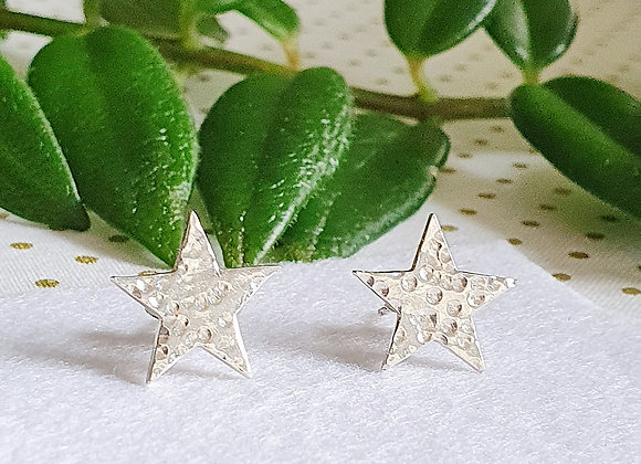 Dappled Star Earring Stud - Giftbox