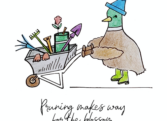 'Pruning Makes Way' Notelet