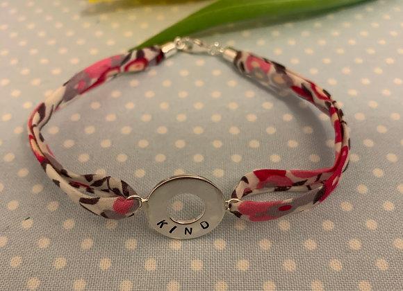 KIND Bougainville Liberty Fabric Bracelet