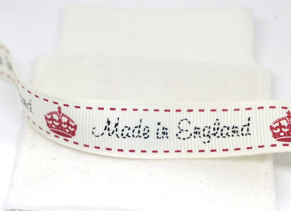 Made in England Ribbon