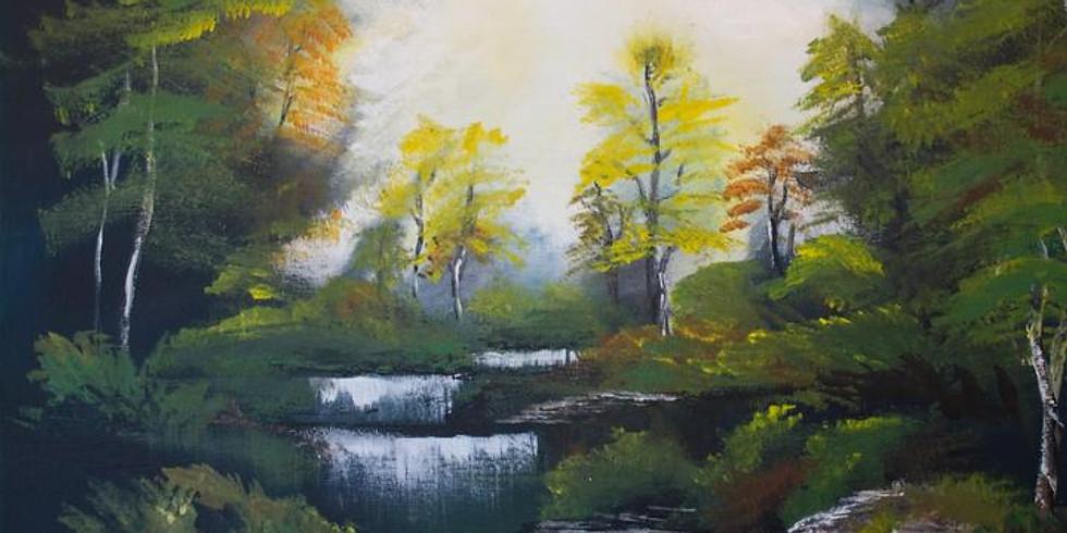 Paintvine - Bob Ross Autumn Forest