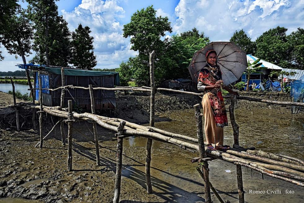A ridosso della foresta del Sundarbans