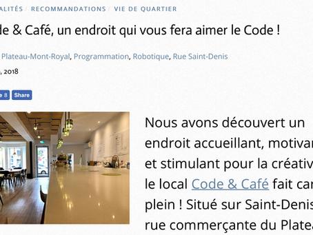 Code & Café, un endroit qui vous fera aimer le Code !