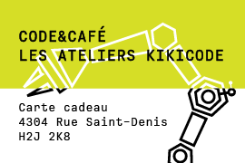 Carte-cadeau Kikicode - 1 atelier