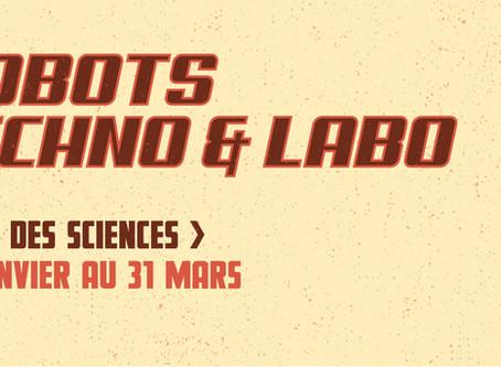 Robots, techno et labo - Le salon des sciences de la Librairie Monet