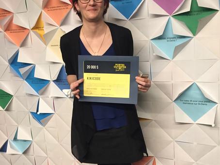 kikicode remporte le 2e prix du concours Portes ouvertes sur Saint-Denis