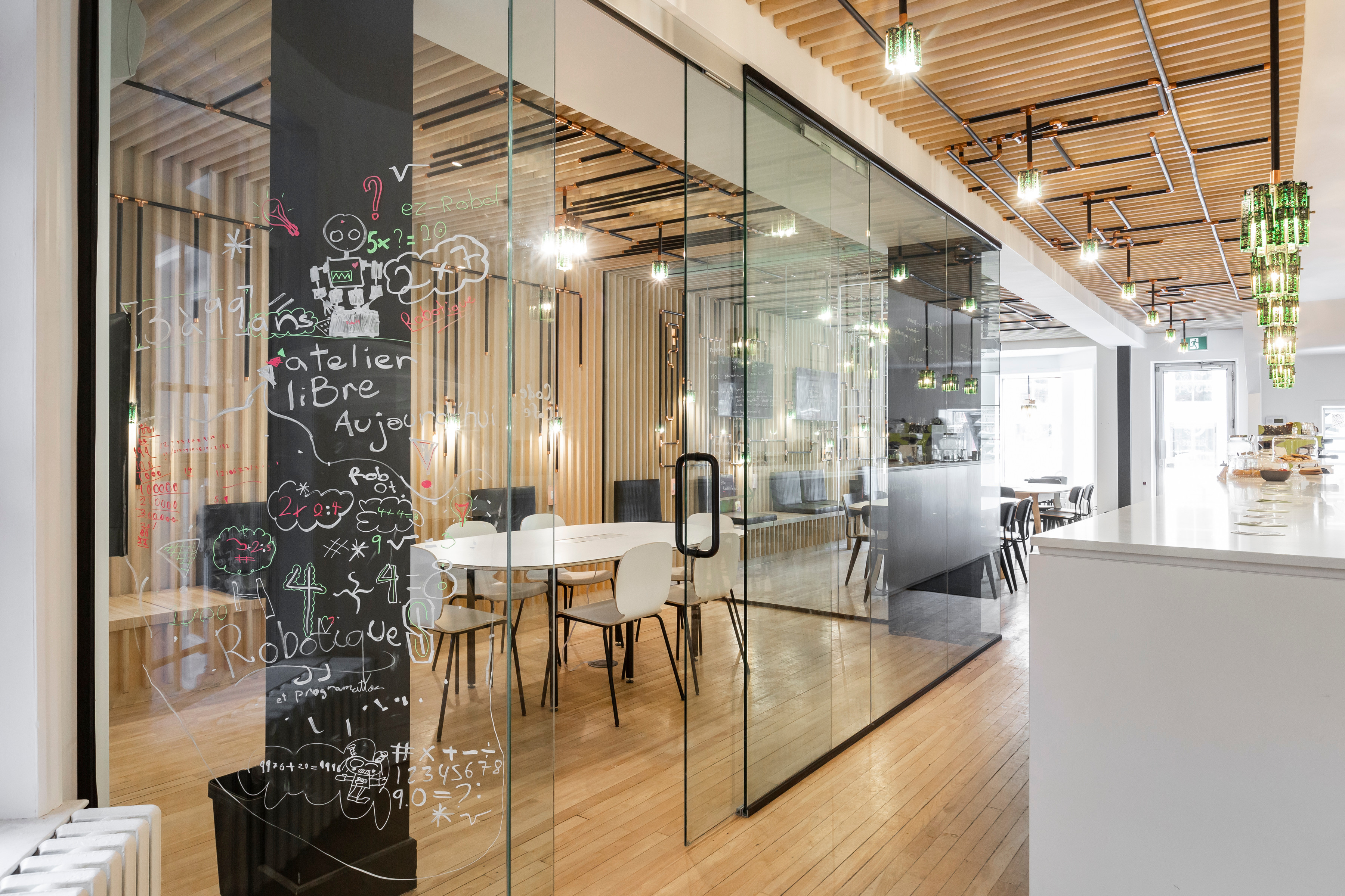 Salle vitrée / Glass Room