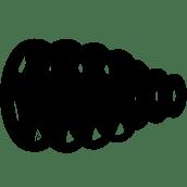צלחות גומי אולימפיות