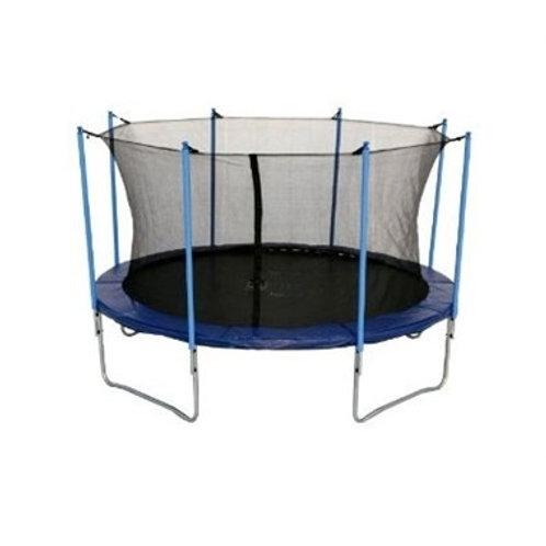 טרמפולינת 12 פיט (3.60) jumping עם רשת הגנה פנימית