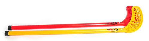 סט הוקי איכותי  אדום+צהוב